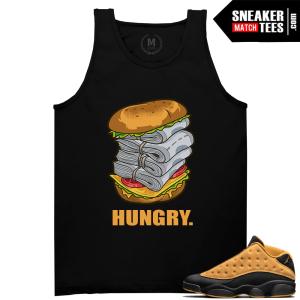 Jordan 13 Chutney T shirts