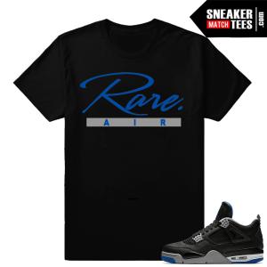 Jordan 4 Alternate Motorsport T-shirt Matching Clothing