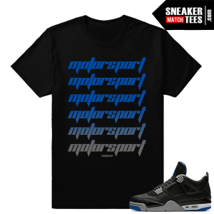 Jordan 4 Motorsport Alternate shirt match sneakers