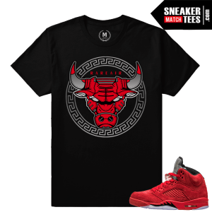 Jordan 5 Shirts Match Jordan 5 Red Suede