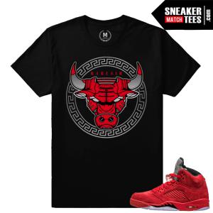 Jordan 5 Shirts Match Jordan 5 Red Suede