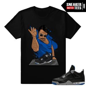 Shirt matching Air Jordan 4 Motorsport Alternate