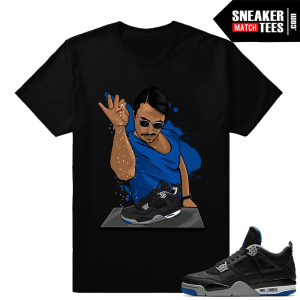 Shirt matching Air Jordan 4 Motorsport Alternate