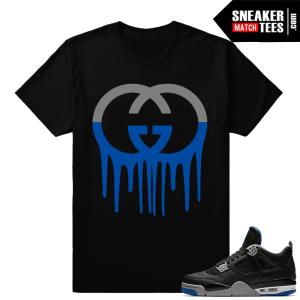 Sneaker Shirts Match Jordan 4 Alternate Motorsport