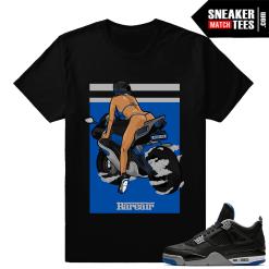 Sneaker shirts to match Jordan 4 Alternate Motorsport