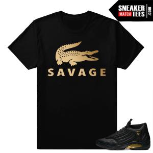 Sneaker tees to Match Jordan 14 DMP Pack