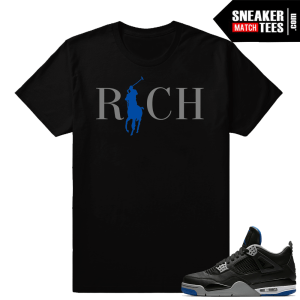 T-shirt to Match Jordan 4 Alternate Motorsport