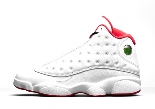 Air Jordan 13 History of Flight side view