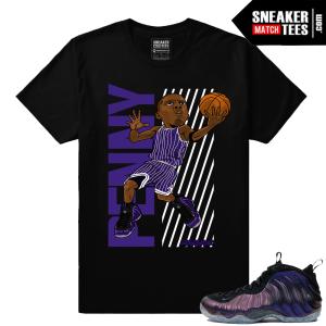 Foamposites sneaker t shirt match
