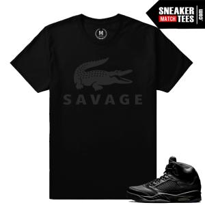 Jordan 5s outfits Black Pinnacle