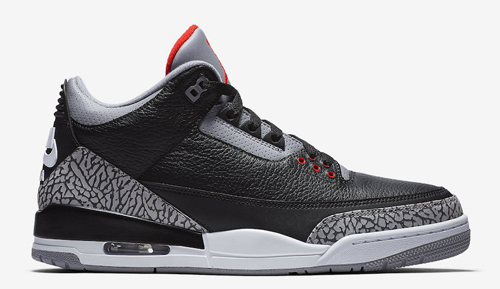 Jordan Release Dates Black Cement 3s