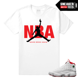 Jordans 13 shirts to match