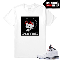 Cement 5s sneaker matching tees