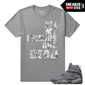 Cool Grey 8s Streetwear Match