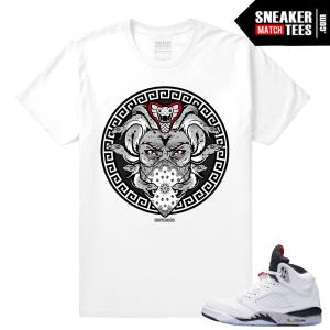 Jordan 5 Cement T shirt