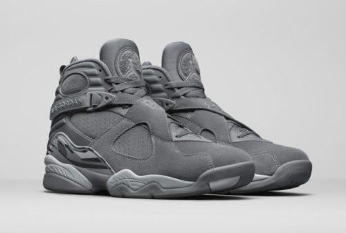 Jordan 8 Cool Grey