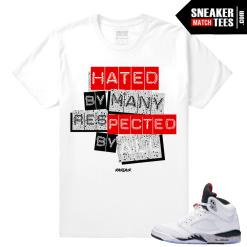Jordan retro 5 Cement Sneaker tees