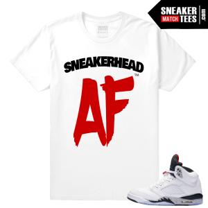 Sneakerhead Cement 5 T shirt