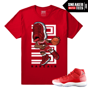 Sneakerhead Gym red 11s