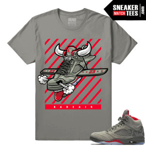 Air Jordan 5 Camo Fly Kicks Sneaker tee