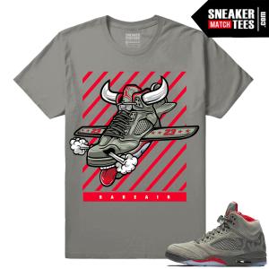 Air Jordan 5 Camo Fly Kicks Sneaker tee