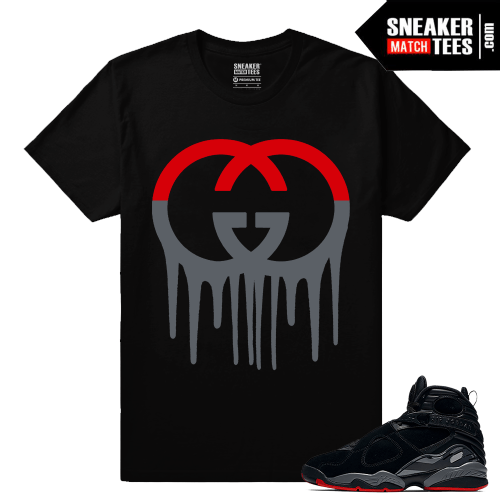Air Jordan 8 Bred Sneaker tees