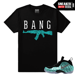 Foamposites Matching Shirts Island Green Foams