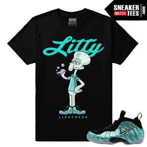 Island Green Foams Shirts to match