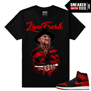 Jordan 1 FlyKnit Banned Shirts for Matching