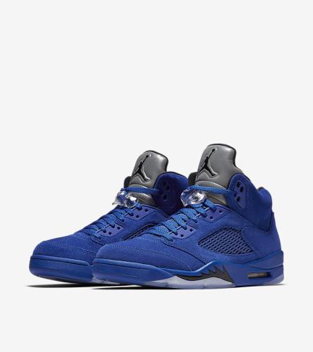 Jordan 5 Blue Suede _01