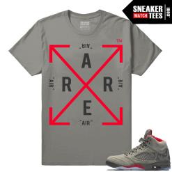 Jordan 5 Camo Streetwear Sneaker shirts