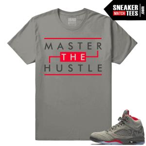 Jordan 5 shirts to match sneakers Camo