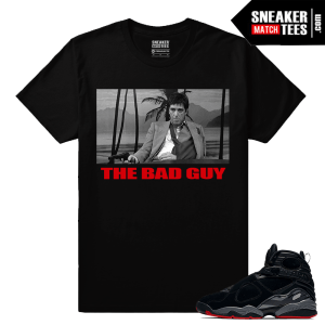 Jordan 8 Bred T shirt Match