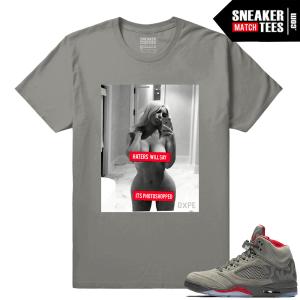 Jordan Camo 5 Shirts