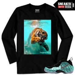 Nike Foams Island Green Matching Long Sleeve T shirt