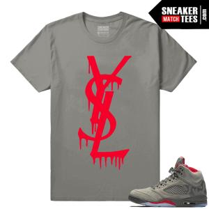 Retro 5 Camo Sneaker tees