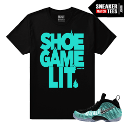 Sneaker tee shirt Island green foams