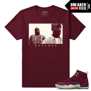 Jordan 12 Bordeaux Tee Shirts