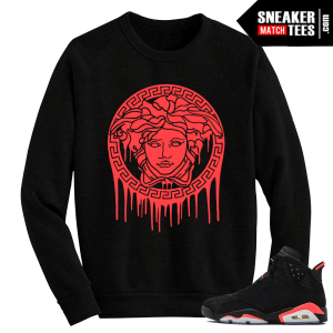Infrared 6 Crewneck Sweater Medusa Drip