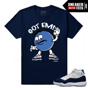 Midnight Navy 11 Jordan T shirt Got Em