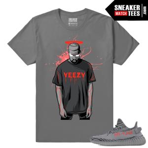 Yeezy Boost 350 V2 Beluga 2 Grey T shirt Saint Yeezy