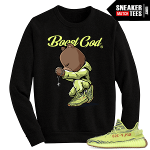 Yeezy Boost 350 V2 Semi Frozen Crewneck Sweater Blessed