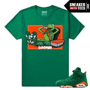 Gatorade Green 6s Sneaker tees Business is Boomin