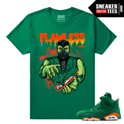 Gatorade Green 6s Sneaker tees Flawless 6s