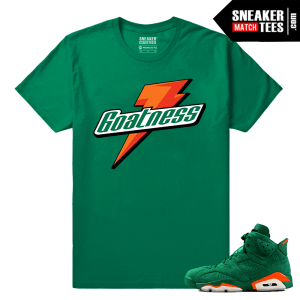 Gatorade Green 6s Sneaker tees Goatness