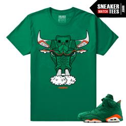 Gatorade 6s Green Sneaker tees Sixes Bull