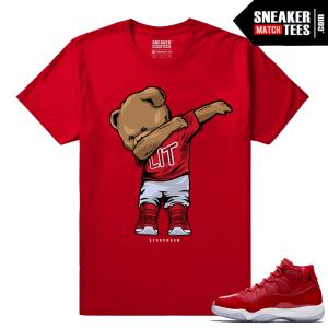 Jordan 11 Win Like 96 Sneaker tees Dabbin Polo Bear
