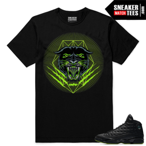 Altitude 13 Sneaker tees Black Dxpe Panther