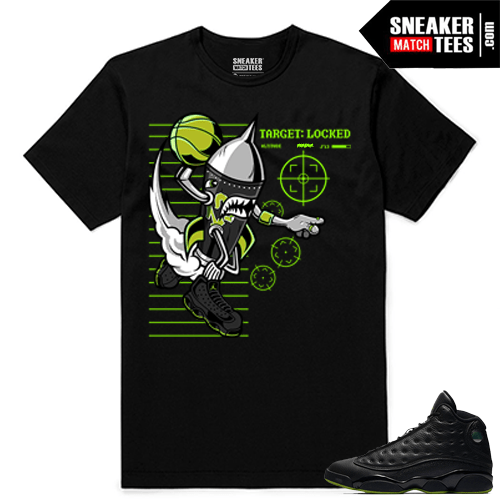 Altitude 13 Sneaker tees Black Rare Air Rocket