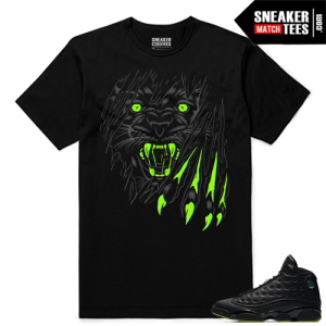 Altitude 13 Sneaker tees Black Savage